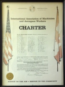 Original Charter for Local Lodge 2413